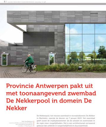 publicatie-Vlaams-Tijdschrift-voor-Sportbeheer_Nekkerpool