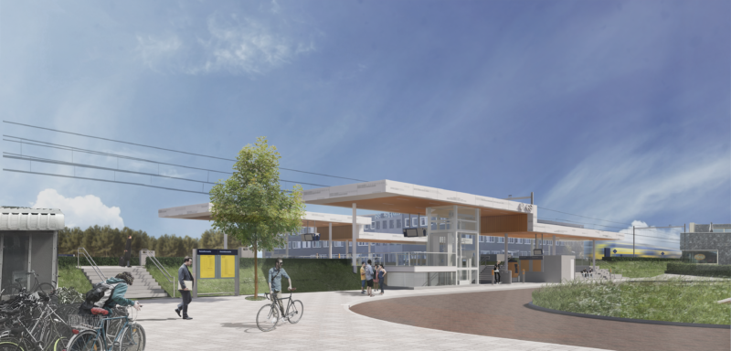 Contracts signed for renewal train station Alkmaar Noord 1