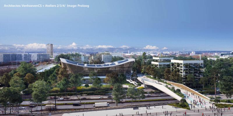 VenhoevenCS Architect of the Olympic Aquatics Centre Paris 2024