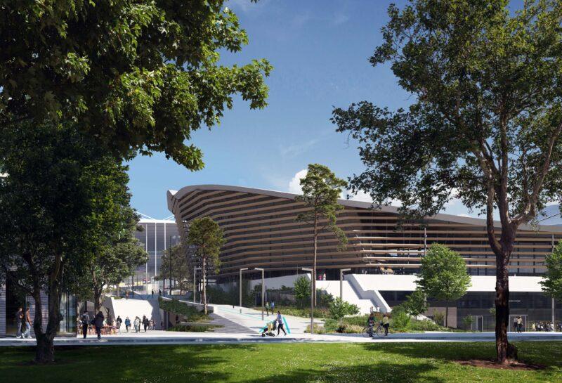 Aquatics Centre Paris 2024 7